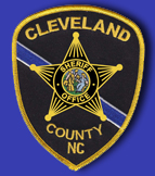 Cleveland County Sheriff Office Patch